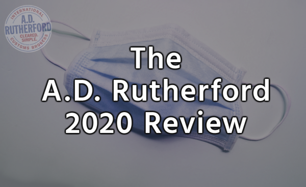 The A.D. Rutherford 2020 Review