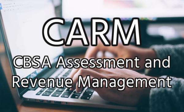 CBSA Assessment and Revenue Management