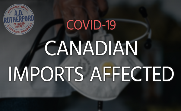 Canadian Imports Affected